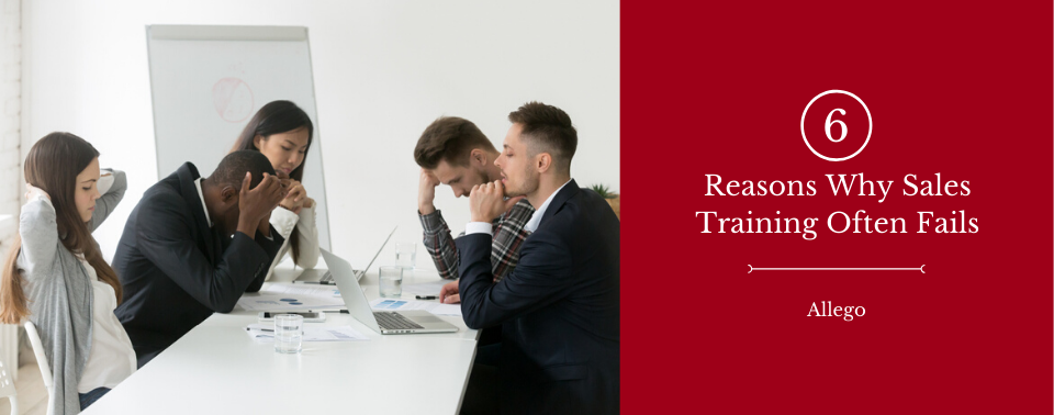 reason for sales training failure