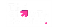 The Growth Events (White with box) Transparent bg